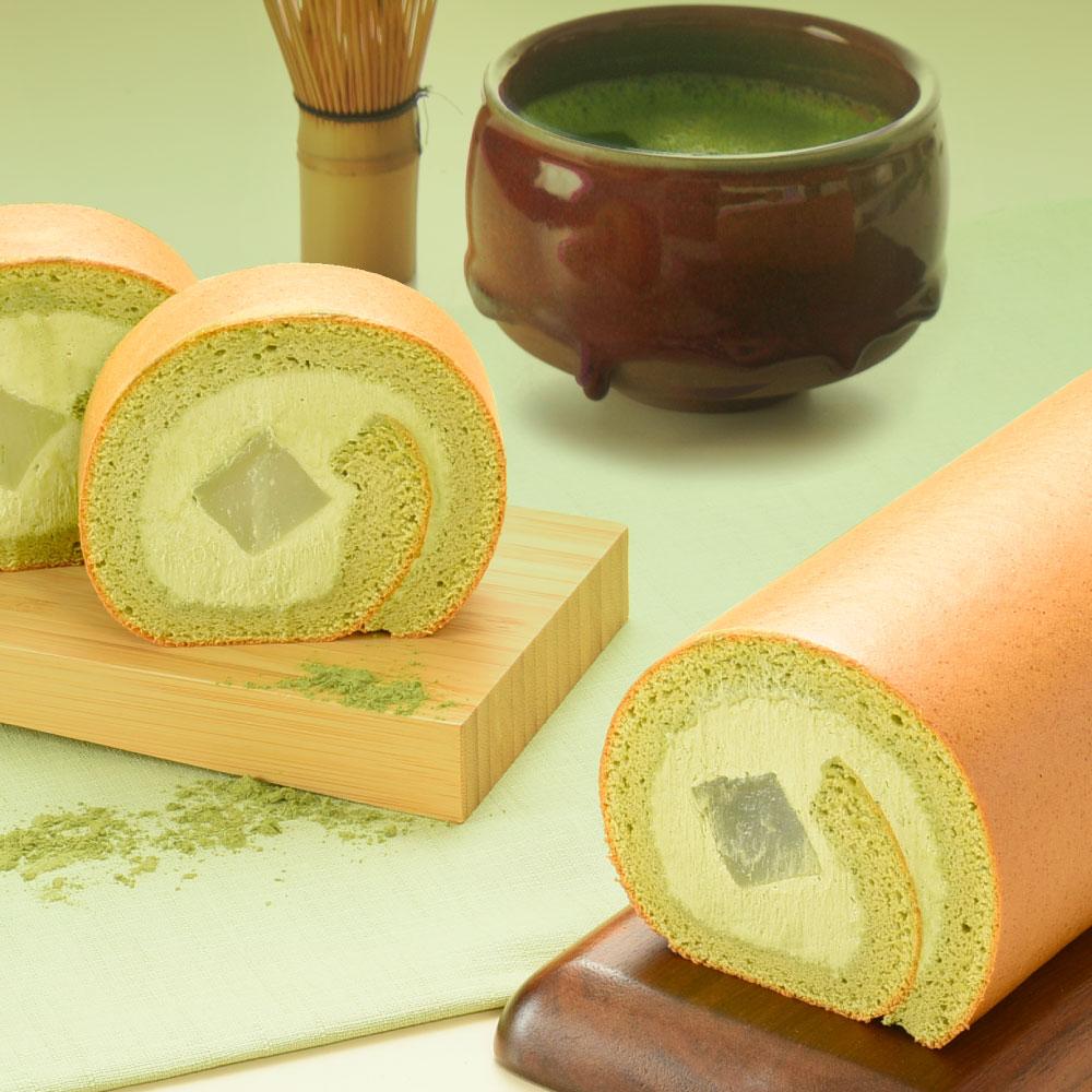 靜岡抹茶蕨餅生乳捲