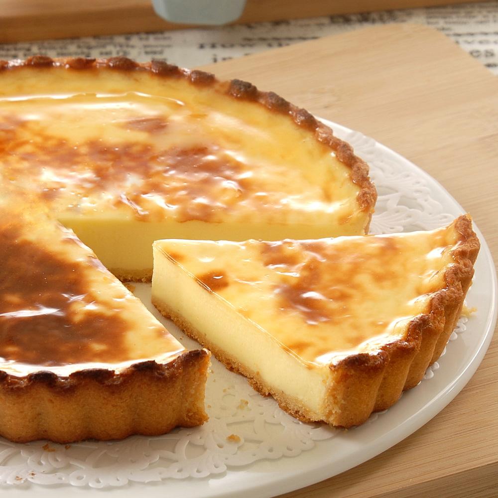 檸檬烤布丁雙享派6吋【隨享卡好康】