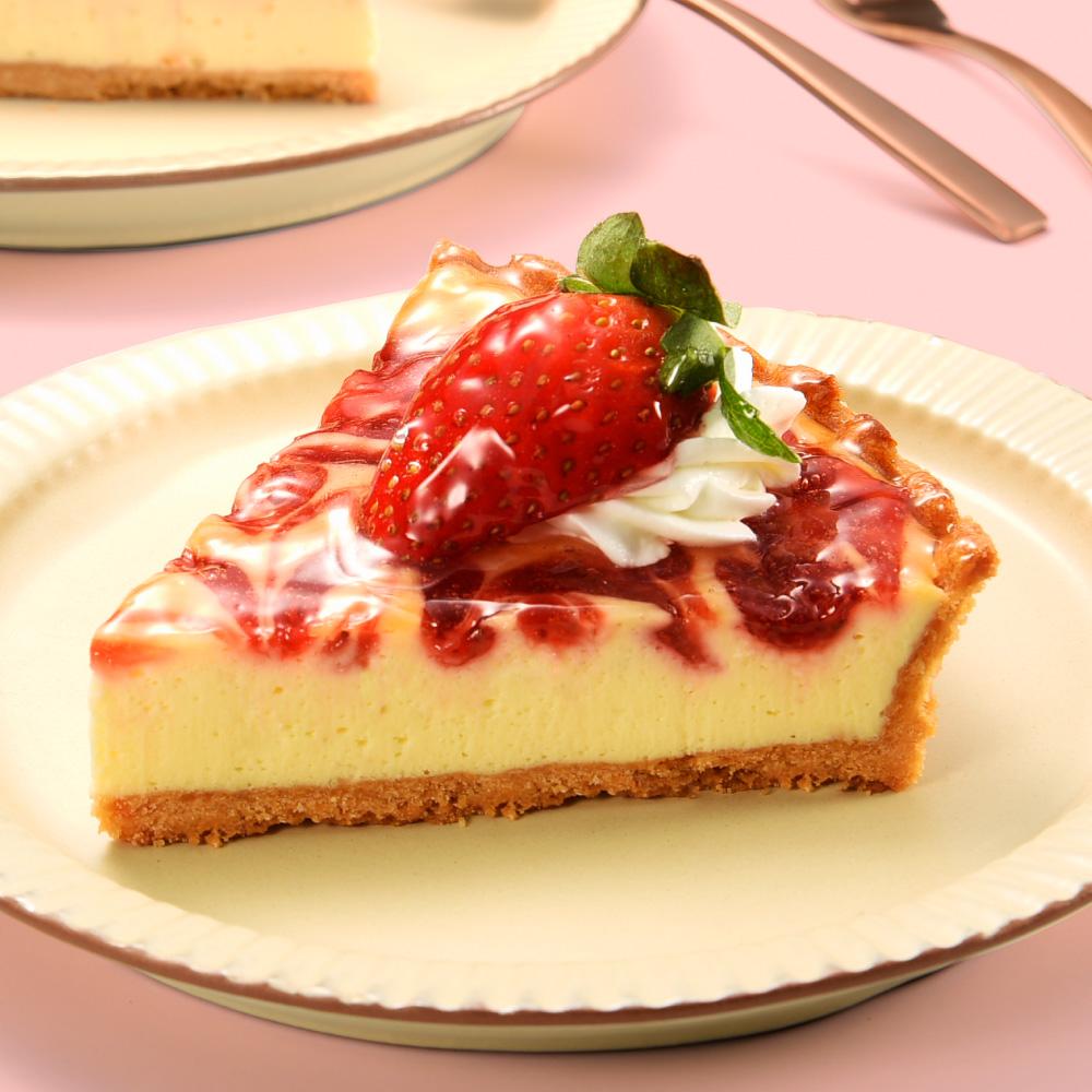 草莓起司派