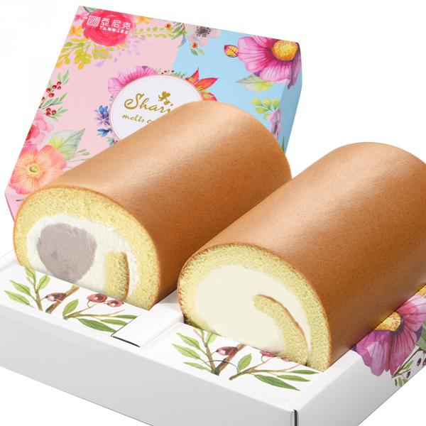 雙捲-(原味+鮮芋奶霜)【限門市取貨】