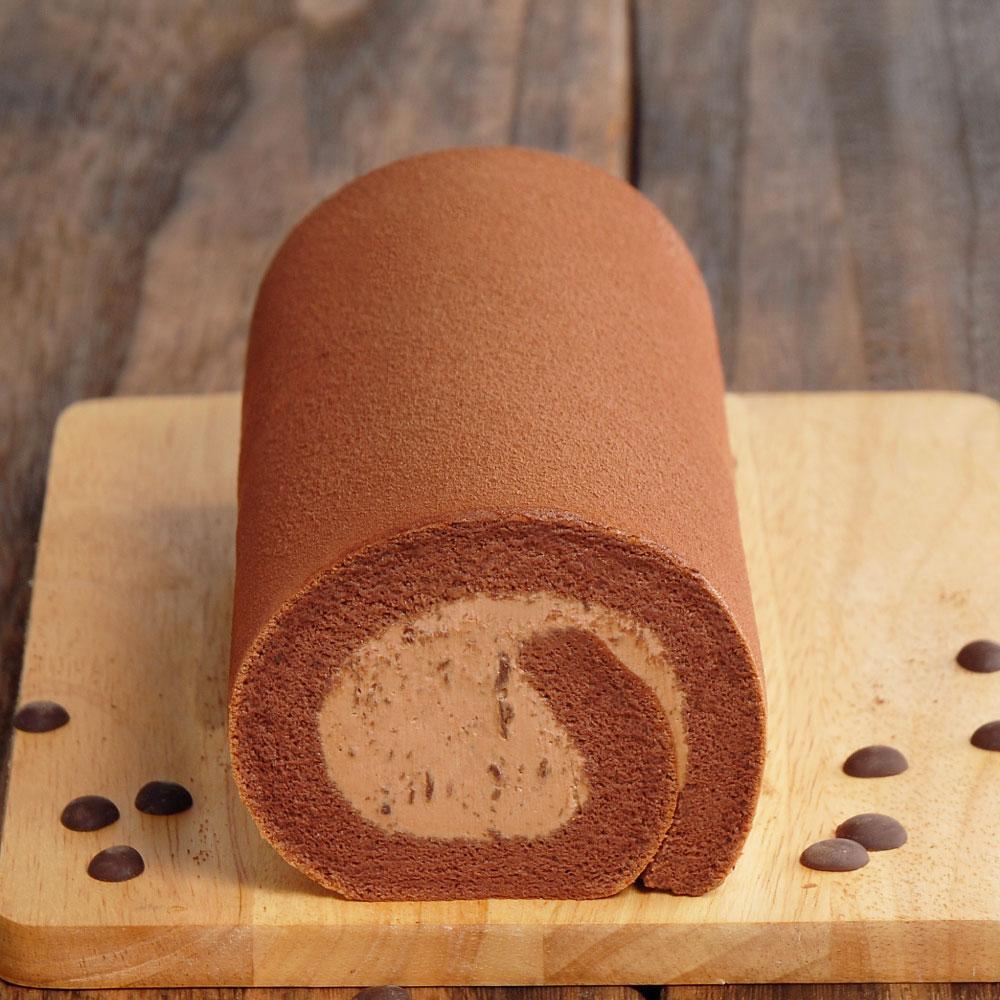 厚巧克力生乳捲