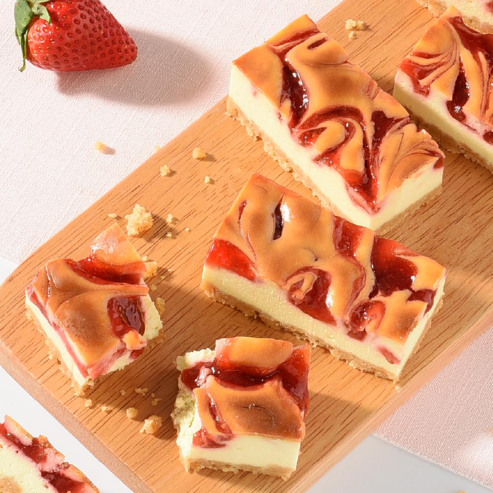 亞尼克起司磚-草莓