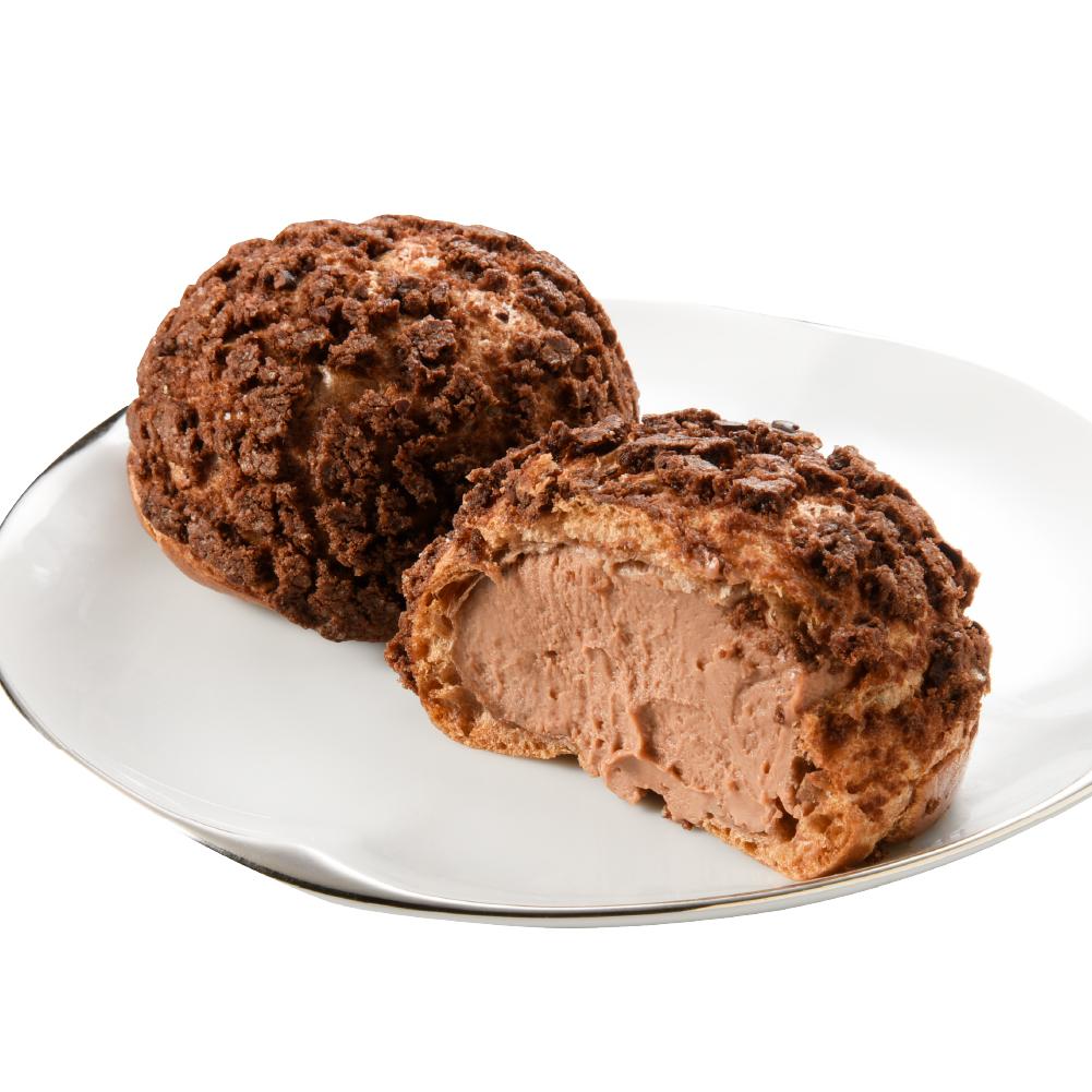 手工泡芙-巧克力