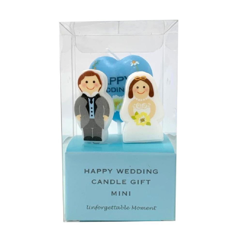 幸福婚禮蠟燭