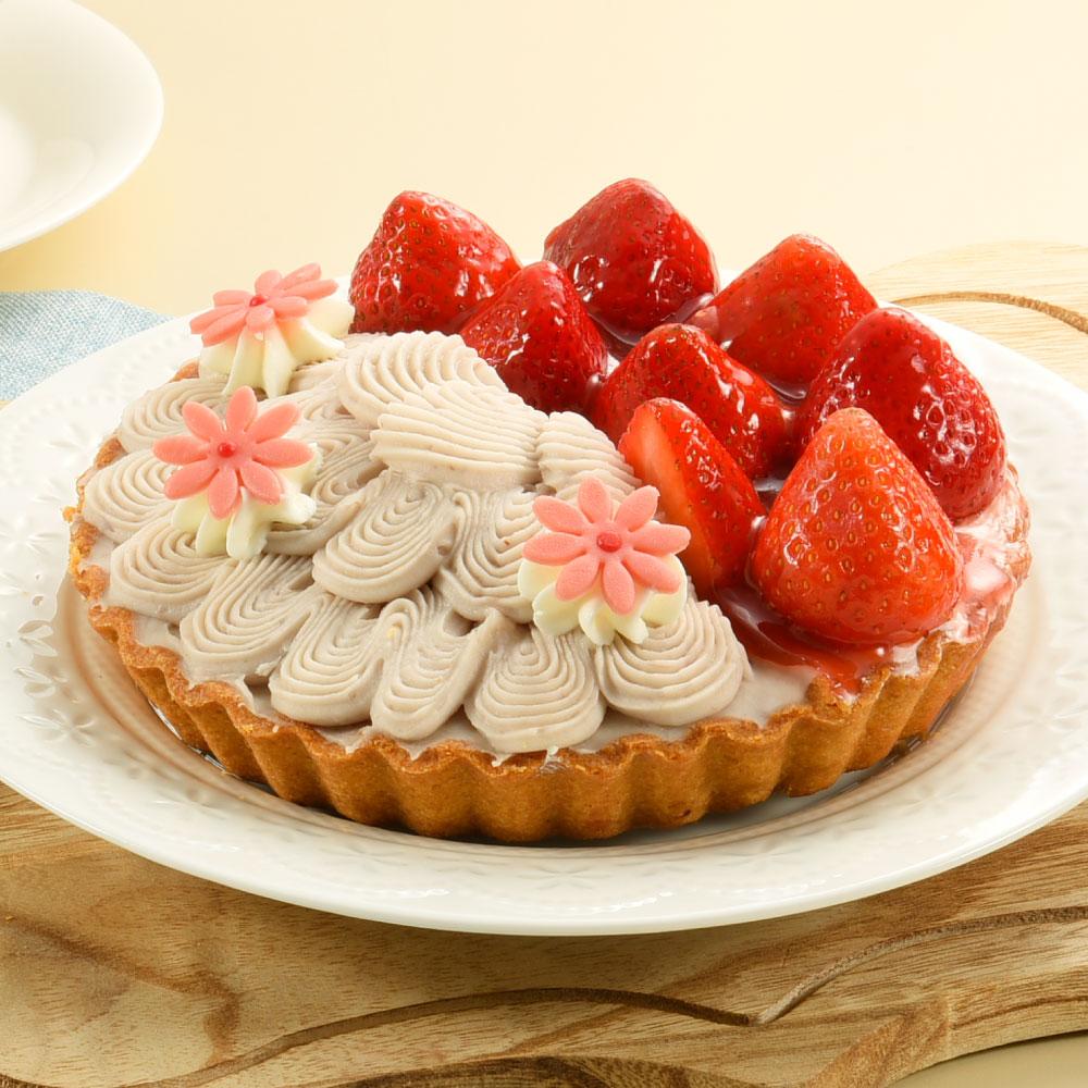 鮮莓芋花園雙享派