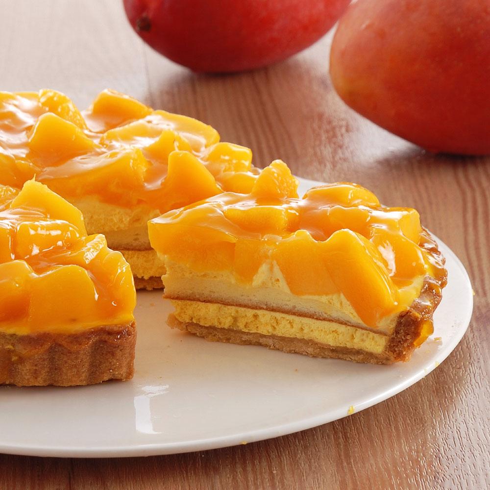 鮮芒檸檬雙享派-6吋